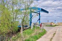Most zwodzony w Ujściu