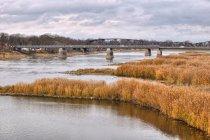 Mosty w Kostrzynie - drogowy i kolejowy