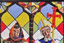 Mozaika w Buchlovicach