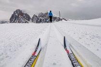 Na biegówkach po Alpe di Siusi