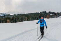 Na biegówkach w Dolomitach