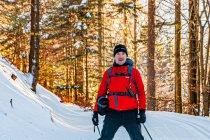 Na biegówkach w Masywie Śnieżnika