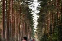 Na biegówkach w Puszczy Piskiej