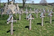 Na cmentarzu wojskowym nr 3