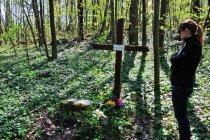 Na dawnym cmentarzu w Szalmii