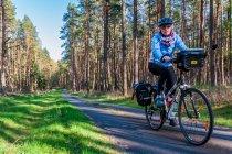 Na drodze rowerowej powiatu Prignitz