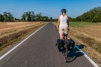 Na drodze rowerowej przed Parmą