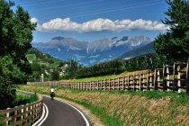 Na drodze rowerowej w kierunku Merano