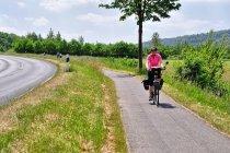 Na drodze rowerowej Wezery