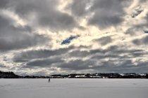Na jeziorze Kłodno