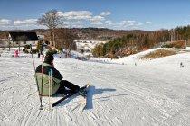 Na narciarskim stoku Kotlinka