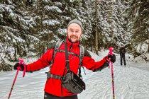 Na nartach biegowych wśród Skalnych Grzybów
