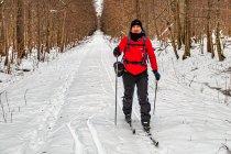 Na nartach po Puszczy Białowieskiej