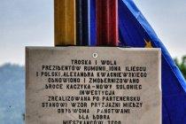 Na pamiątkę wizyty Prezydenta RP Aleksandra Kwaśniewskiego