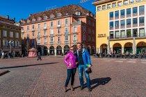 Na Piazza Walther w Bolzano