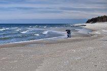 Na plaży w Jastarni
