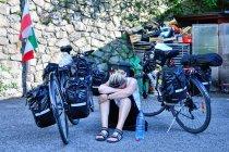 Na podjeździe z Bolzano do Siusi
