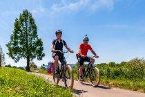 Na rowerach elektrycznych nad Wezerą