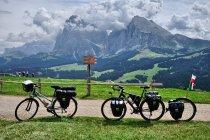 Na rowerach w Dolomitach