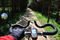 Na rowerowej drodze