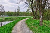 Na rowerowej trasie w Rybniku