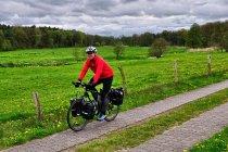 Na rowerowym szlaku przed Perlebergiem