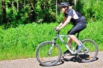 Na rowerze górskim