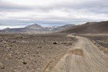 Na rowerze po górach Islandii
