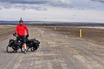 Na szutrowej drodze na Islandii
