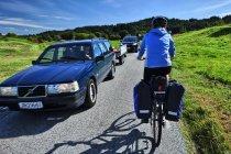 Na wąskiej, norweskiej drodze