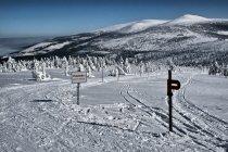 Na zimowym szlaku w Karkonoszach