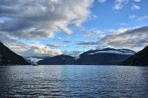 Nad fiordami Norwegii