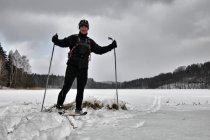 Nad jeziorem Bukrzyno Małe