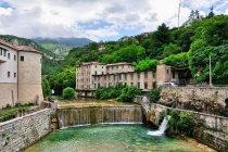 Nad rzeką Leno w Rovereto