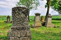 Nagrobek z cmentarza w Wielkim Zajączkowie