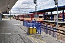 Najpopularniejszy pociąg w Czechach na stacji Znojmo
