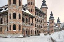 Najrzadziej oglądana strona zamku