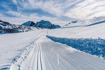 Narciarska trasa biegowa na Dachsteinie