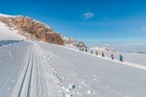 Narciarska trasa biegowa na lodowcu
