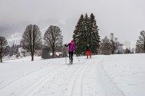 Narciarstwo biegowe w Ramsau w Styrii