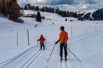 Nauka biegania na nartach od najmłodszych lat