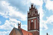 Neogotycki kościół św. św. Piotra i Pawła w Pieniężnie
