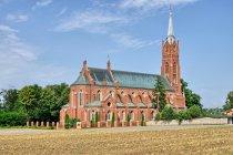 Neogotycki kościół w Sulejowie