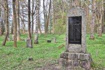 Niemiecki cmentarz z I wojny światowej koło Szczenurza