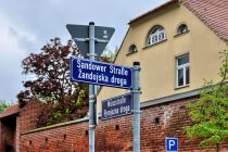 Niemieckie i dolnołużyckie nazwy ulic w Chociebużu