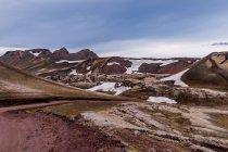 Niesamowite krajobrazy gór Islandii