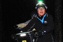 Nocny odcinek rowerem