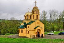 Nowa cerkiew prawosławna w Bielance