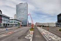 Nowoczesna architektura w Reykjaviku