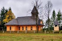 Odbudowany kościół na Stecówce